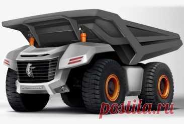 КамАЗ разработает карьерный самосвал грузоподъемностью 220 тонн — Motor