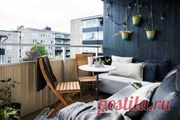 Portfolio - Скандинавский - Балкон и лоджия - Стокгольм - от эксперта Michsign AB Photography | Houzz Россия