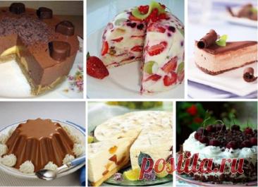 Top de las mejores tortas sin cocción: ¡la elección fenomenal!
