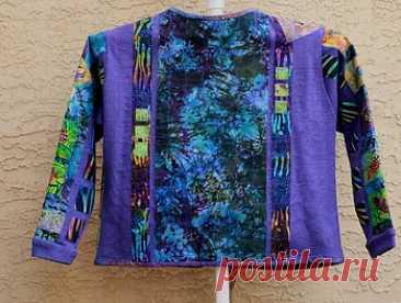 Sweat Shirt Jackets | designerfiberart