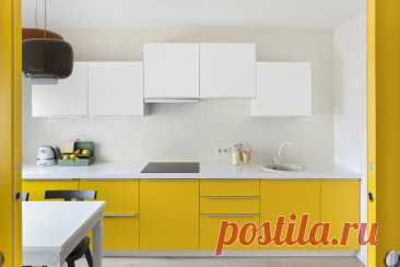 How to register linear kitchen: 8 cool ideas from the pro | Fresh ideas of interior design, decor, architecture on InMyRoom.ru