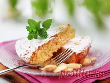 El pastel de almendra