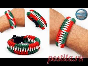 Как сделать браслет из паракорда Зубы дракона