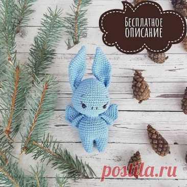 1000 схем амигуруми на русском: Летучая мышь амигуруми