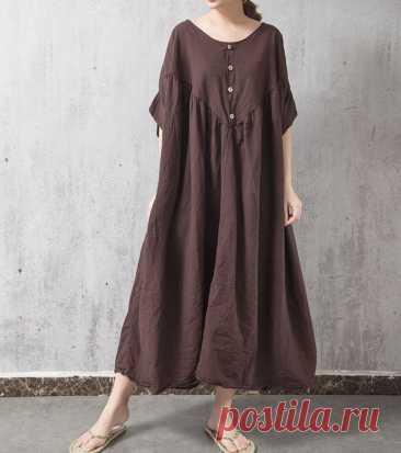 Womens oversized dress Plus Size Clothing Loose Fitting   Etsy