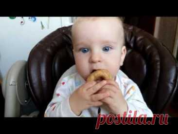 Рецепт бубликов | Рецепт бубликов грудничкам | Бублики на первые зубки | Бублики малышам