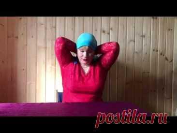5 способов завязать платок на голове. Любовь Яскина (г.о. Клин)
