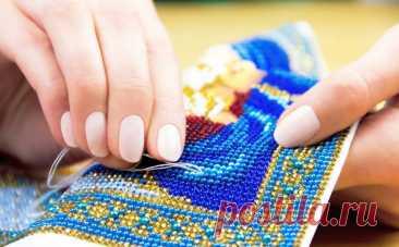 Вышивка бисером для начинающих - основные приемы » Женский Мир