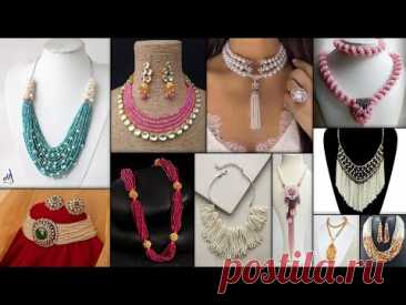 Jewelover-Makeover-Takeover.. Party Wear & Bridal Wear Outfits!!! DIY Necklace