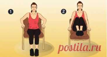 7 упражнений для укрепления мышц живота и сжигания жира - Уголок хозяйки - медиаплатформа МирТесен