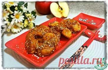 Яблоки в карамели Кулинарный рецепт