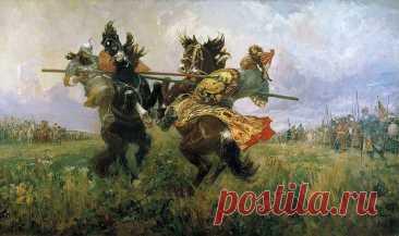 Дмитрий Донской против Папы Римского