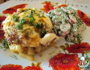 """Картошка """"под одеялом"""" – кулинарный рецепт"""