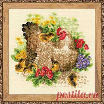 Курица (арт.1480 Риолис) купить в Stitch и Крестик
