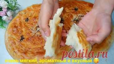 Узбекские лепёшки с луком в духовке