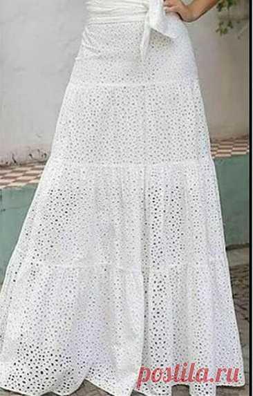 Моделирование многоярусной юбки