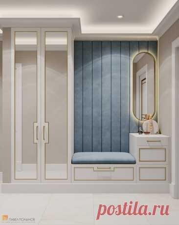 Фото: Прихожая - Дизайн квартиры в ЖК «Пять Звезд», 97 кв.м.