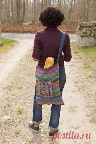 13 современных идей вязания крючком сумок