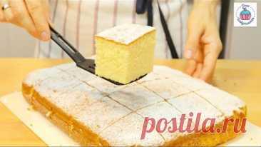 ГОРЯЧИЙ МОЛОЧНЫЙ ПИРОГ или Пирог на Горячем Молоке Hot Milk Cake