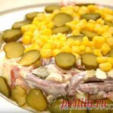 Сытный мясной салат на Новый год 2020!!! Сытный мясной салат на Новый год 2020!!! Если считаете, что новогодний салат должен быть непременно питательным, то этот рецепт придется вам по душе. В чём-то