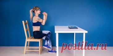 Упражнения для разминки шеи и спины при сидячей работе