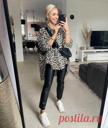 Как составить стильный осенний образ с кожаными брюками: 10 восхитительных идей от модницы из Германии Кожаные брюки – универсальный предмет дамского гардероба. Они одинаково хорошо идут как юным девушкам, так и женщинам постарше, легко вписываются в любой стиль. Давайте рассмотрим 10 актуальных осенних образов с кожаными брюками на примере модницы из Германии. Модель из натуральной кожи или... Читай дальше на сайте. Жми подробнее ➡