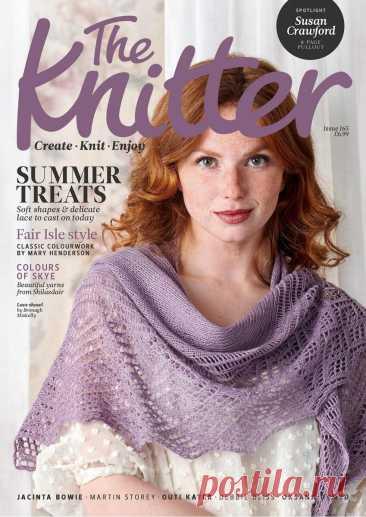 Лето в английском стиле. Вязаные модели из нового журнала The Knitter   Сундучок с подарками   Яндекс Дзен