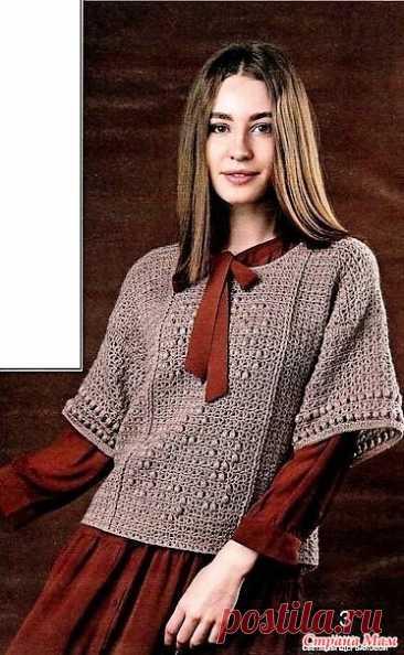 """Пуловер """"Грезы"""" - Все в ажуре... (вязание крючком) - Страна Мам"""