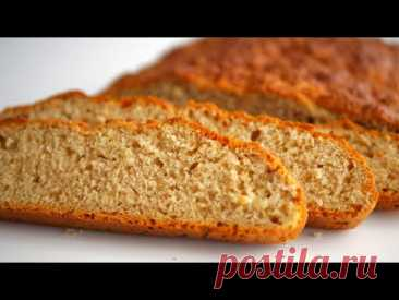 Ароматный хлеб без дрожжей на скорую руку