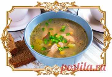 #Суп #с #копчёной #курицей  Благодаря птице у этого супа необыкновенно яркий вкус и аромат, перед которым невозможно устоять.  Время приготовления: Показать полностью...