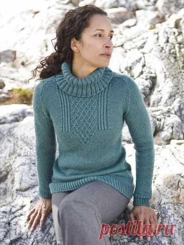Красивый свитер — Клад рукоделия