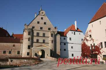 Замки Германии: Траусниц(Burg Trausnitz)