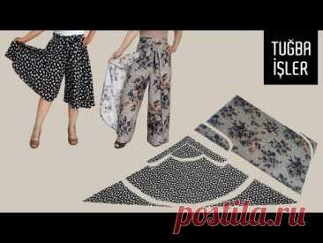 Очень легкий крой и пошив летних брюк (Шитье и крой) – Журнал Вдохновение Рукодельницы