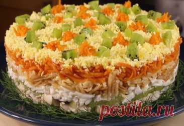 Необыкновенно вкусный салат Леди В этом салате отлично сочетаются, на первый взгляд, не сочетаемые ингредиенты. Название...