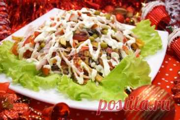 Masquerade salad the Most festive salad for a holiday table. Masquerade salad will not remain unaddressed your guests and will become the bright guest on your holiday table.