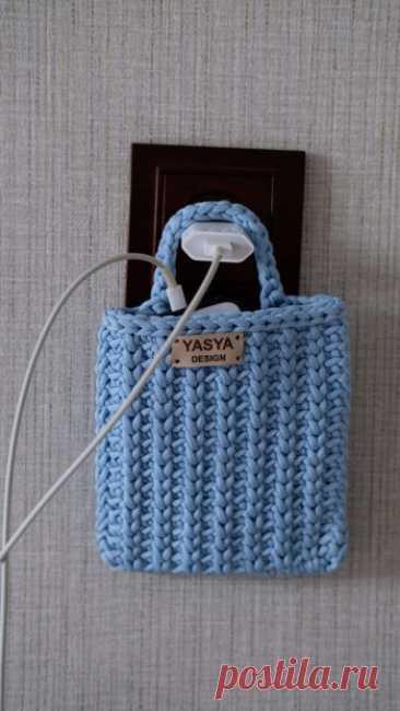 Купить кармашек для телефона ручной работы у мастера без наценок | DIY Рукоделие - Декор для дома