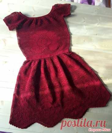 ""\""""Lady in Red"""" a fillet dress - Knitting - the Country of Mothers""366|434|?|en|2|92927d4de268542ae0cf56e6bb8493b6|False|UNLIKELY|0.31535980105400085
