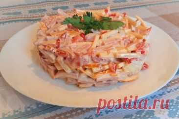 Салат «голландский» – рецепт с фото