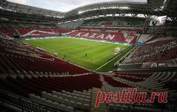 На отборочный матч чемпионата мира Россия - Словакия будет допущено до 13,5 тыс. зрителей. Встреча пройдет 8 октября в Казани