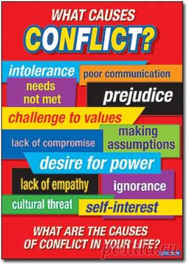 What causes conflicts