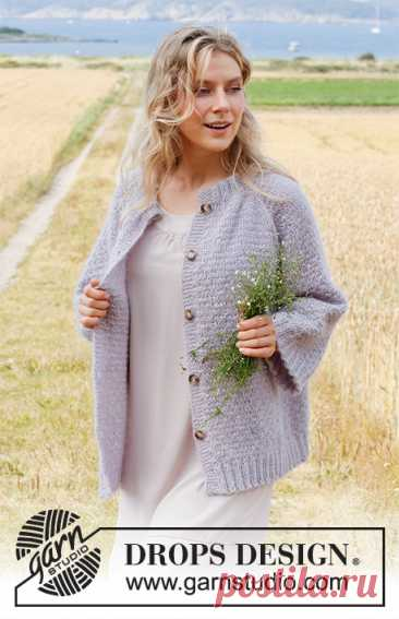 Жакет Lavender Sprinkles - блог экспертов интернет-магазина пряжи 5motkov.ru