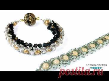 Marina Bracelet - DIY Jewelry Making Tutorial by PotomacBeads