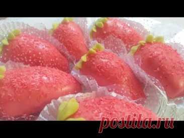 حلوة الفراولة تذوب فلفم 🍓😋