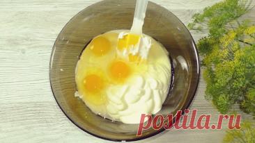 Заливной пирог по старому рецепту: выпечка на скорую руку (меняя начинки можно готовить хоть каждый день)