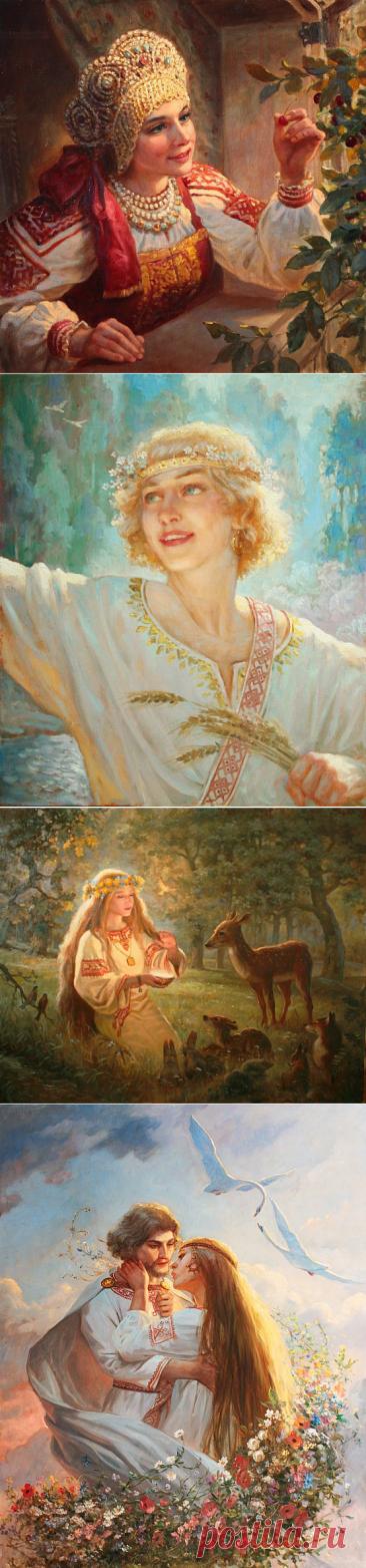 Жанровая живопись.Шишкин Андрей.