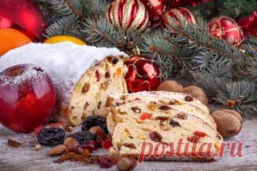 Рождественский кекс с сухофруктами и орехами рецепт с фото пошагово