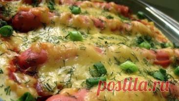 Надоели обычные сосиски? Картофельная Запеканка с Сосисками – отличный выбор!