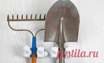 Хранение садового инвентаря на даче: просто и удобно
