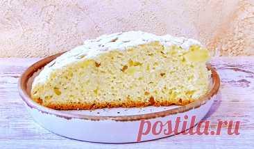 Яблочный пирог «Растрёпка»   Рецепты на FooDee.top