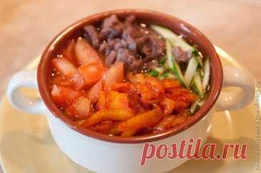 👌 Корейский суп Кукси, рецепт с фото.